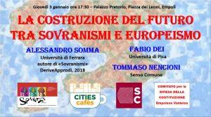 La costruzione del futuro tra sovranismi e europeismo @ Palazzo Pretorio