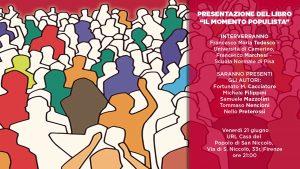Il momento populista. Ernesto Laclau in discussione @ URL Casa del Popolo San Niccolò