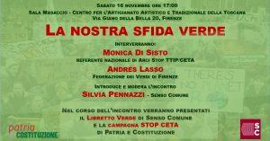 La nostra sfida verde @ Sala Masaccio